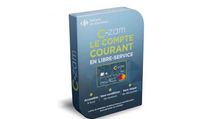 Coffret C-zam Carrefour Banque