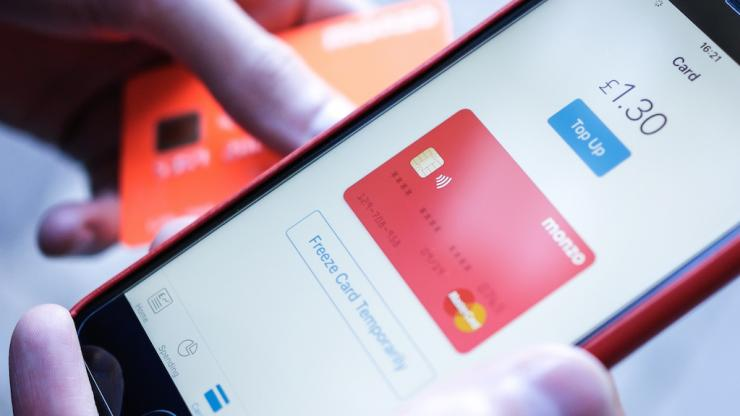 Carte bancaire et application mobile Monzo