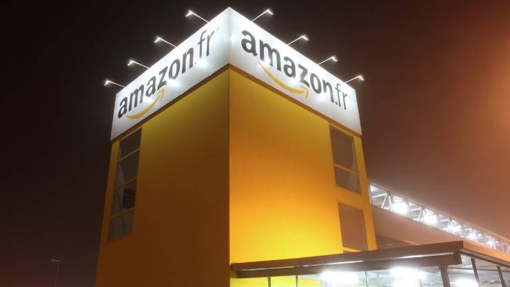 Centre logistique d'Amazon.fr à Saran