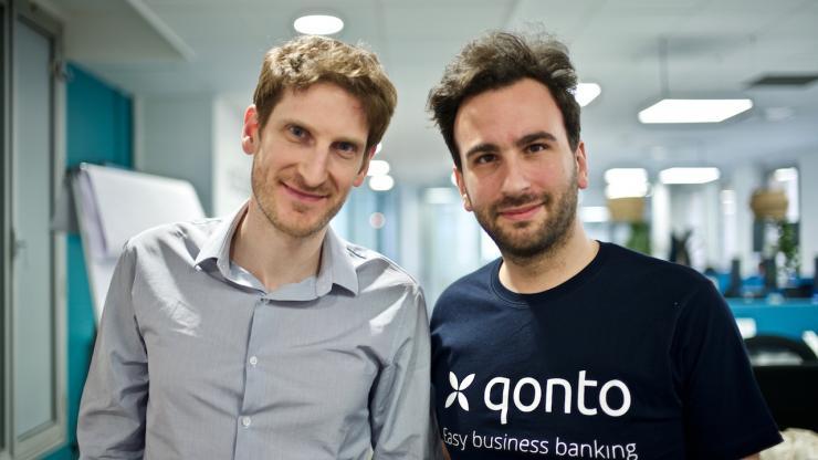 Alexandre Prot et Steve Anavi, co-fondateurs de Qonto