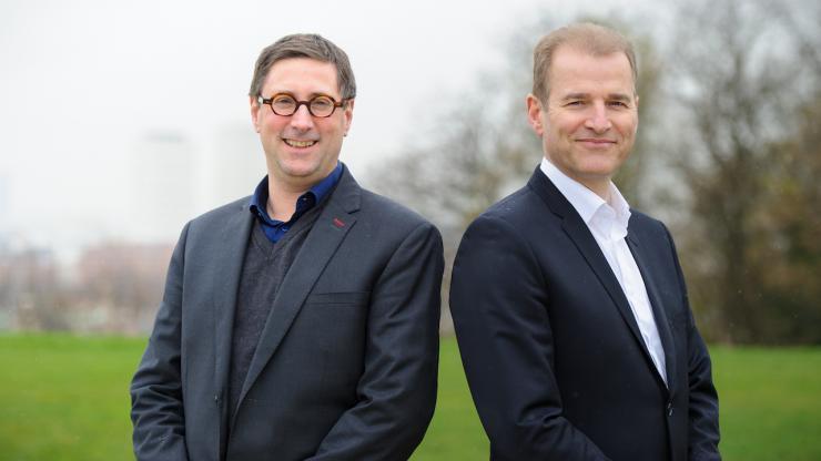 Sébastien Burlet et Damien Guermonprez (Lemon Way)