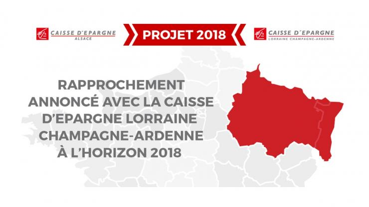 Fusion Caisse d'Epargne Alsace et Lorraine Champagne-Ardenne