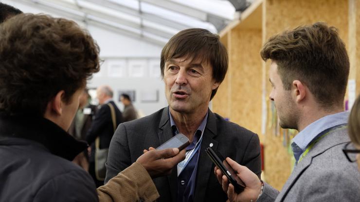 Nicolas Hulot en 2015