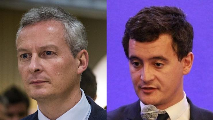 Bruno Le Maire et Gérald Darmanin