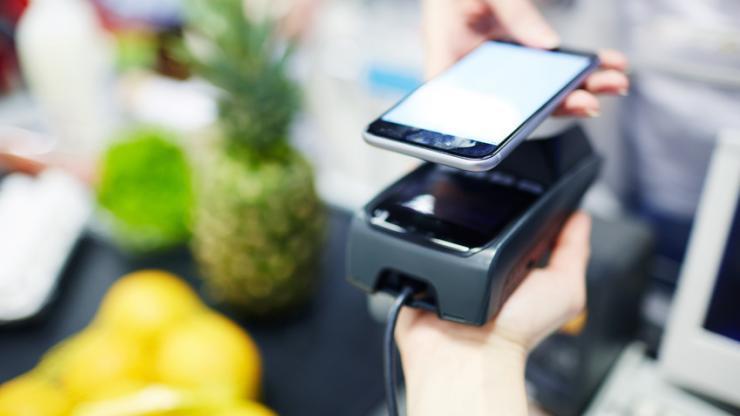 Paiement mobile en supermarché