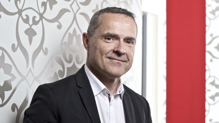 Didier Hardouin, DG de Max (Crédit Mutuel Arkéa)