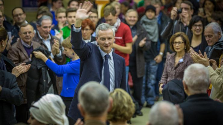 Bruno Le Maire, réunion publique à Strasbourg le 21 novembre 2014