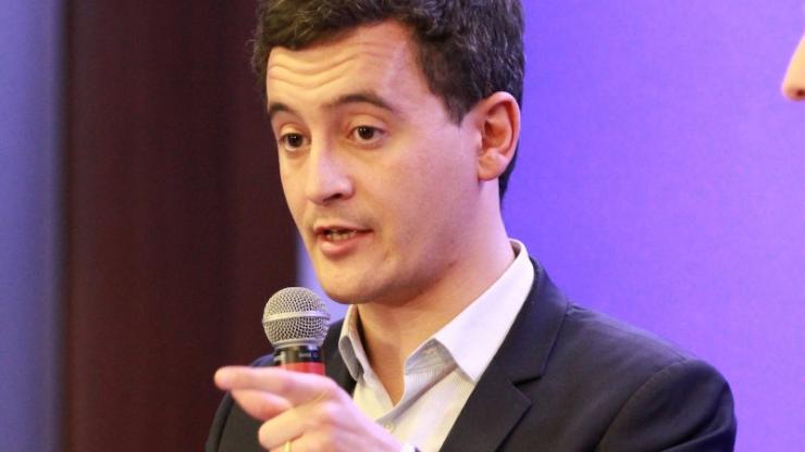 Gérald Darmanin en 2015