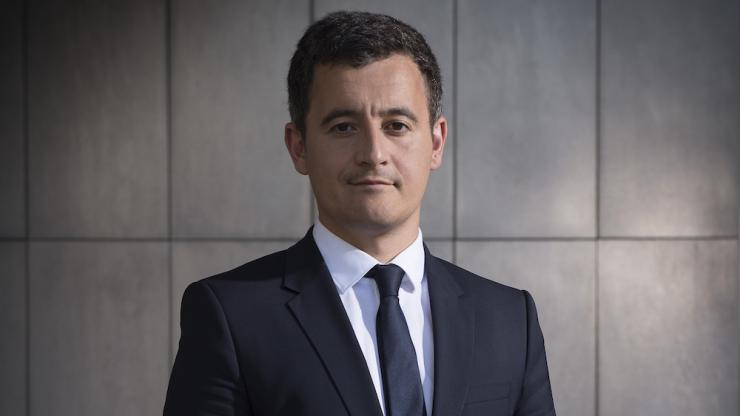 Photo officielle de Gérald Darmanin en 2017