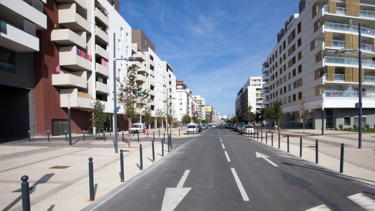 Un immeuble à Montpellier