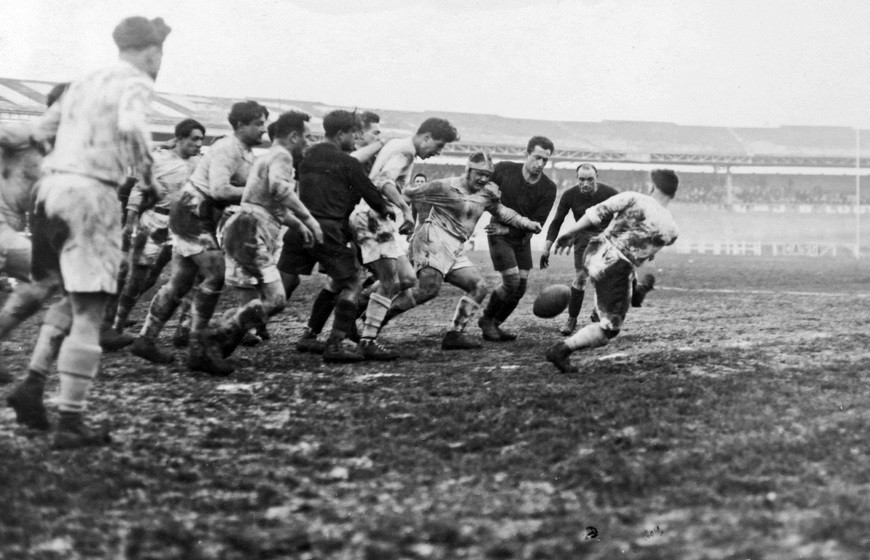 Match de rugby du CASG en 1926