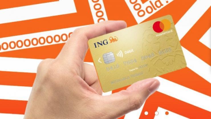 Carte MasterCard Gold ING