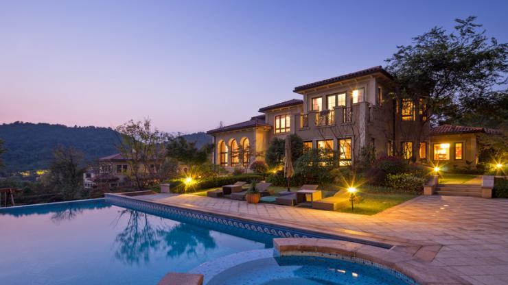 Une villa luxueuse