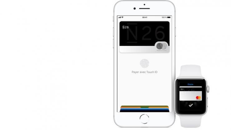 Carte bancaire N26 dans Apple Pay