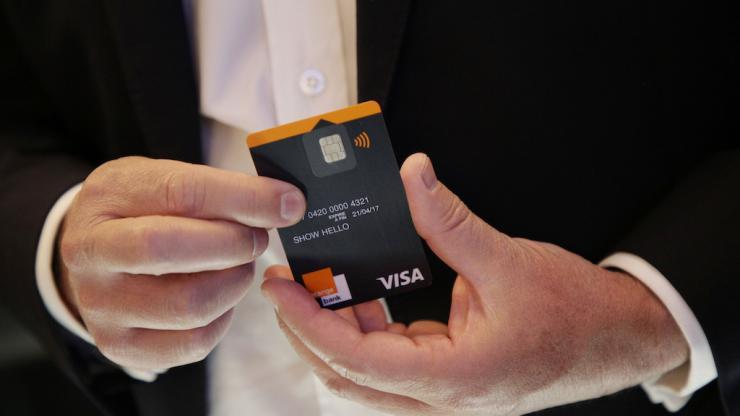 Orange lance son offre — Banque