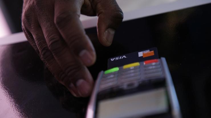 Paiement avec une carte bancaire Orange Bank