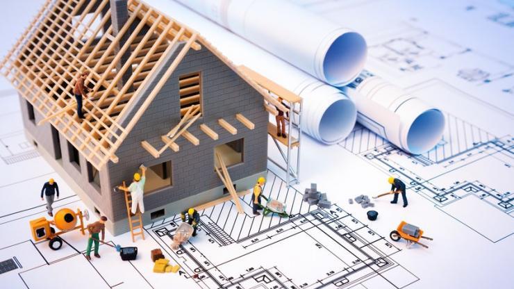 Un maison en construction