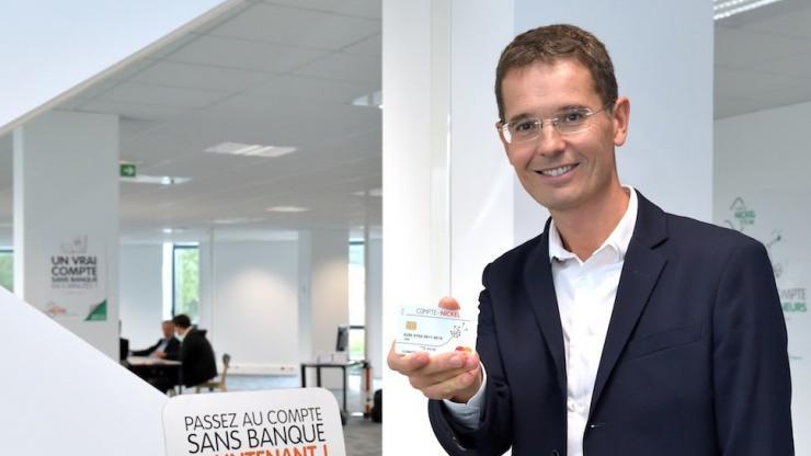 Arnaud Giraudon, président du Compte Nickel, en novembre 2017