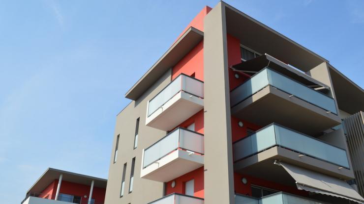Un immeuble neuf