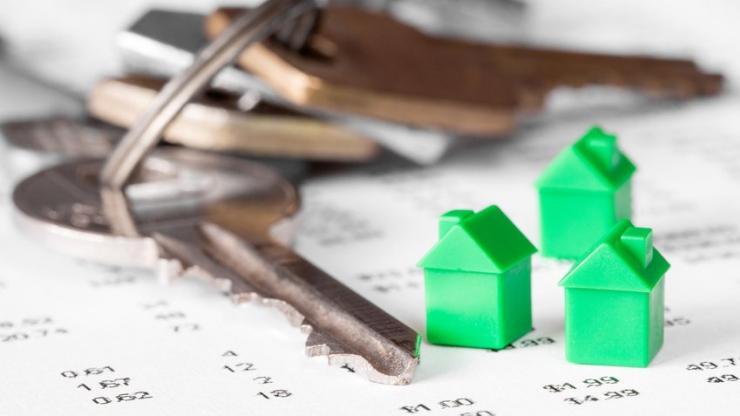 Des clés et des maisons