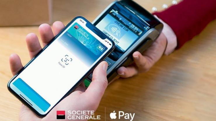 Apple Pay à la Société Générale