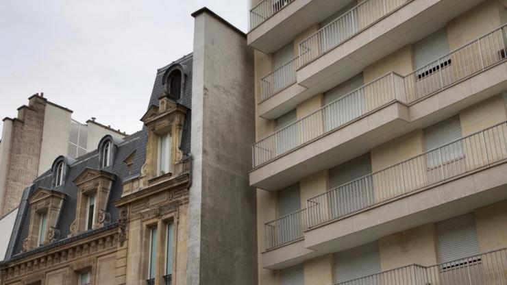 Deux immeubles collés