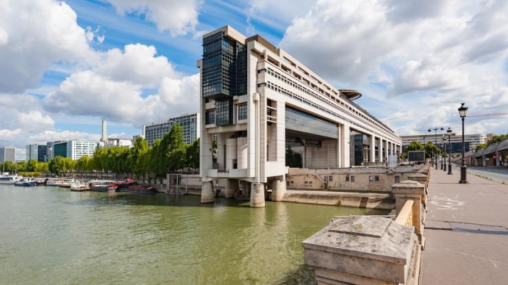 Ministère des finances à Paris Bercy