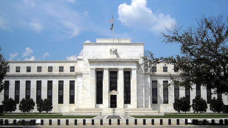 Immeuble de la Réserve fédérale américaine à Washington