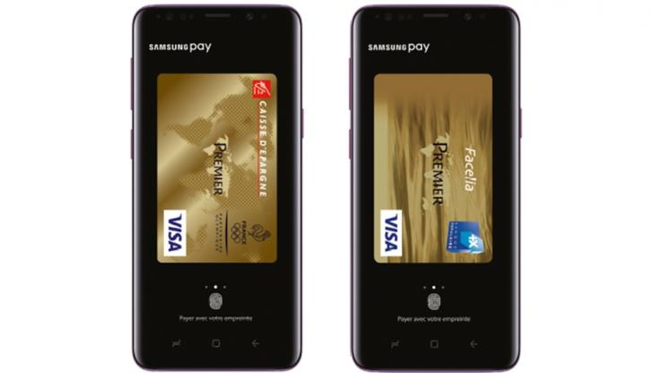 Samsung Pay arrive en France — Paiement sans contact