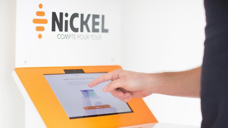 Borne d'ouverture Nickel