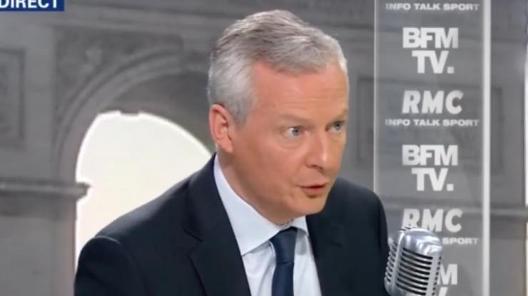 Bruno Le Maire sur BFMTV, jeudi 19 avril 2018