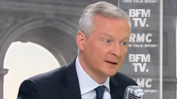 Bruno Le Maire sur BFMTV le 19 avril 2018