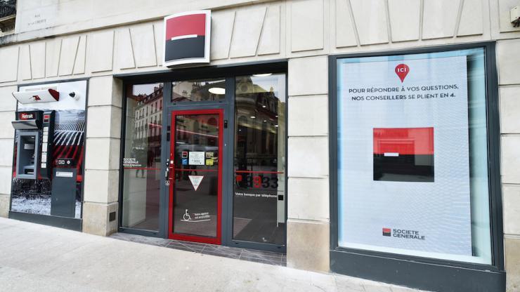 Agence de la Société Générale - Mai 2018