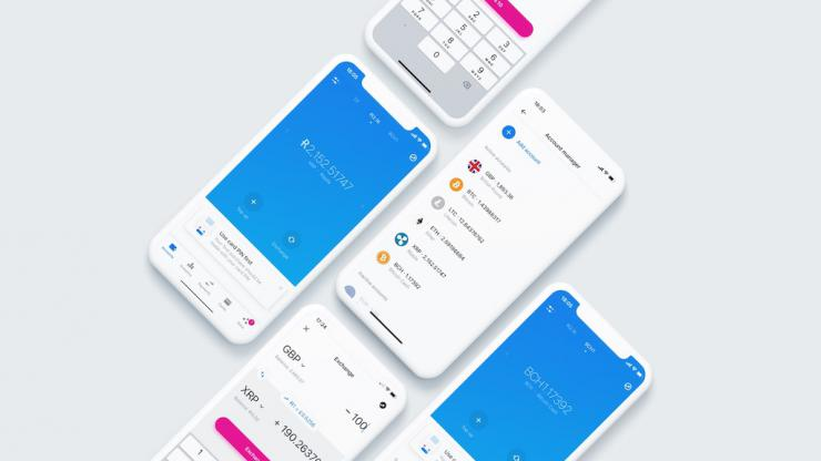 Crypto-monnaies dans l'application Revolut