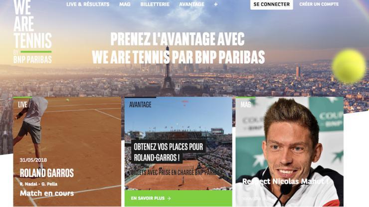 BNP Paribas Roland Garros 2018