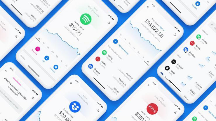 Interface de Revolut Wealth