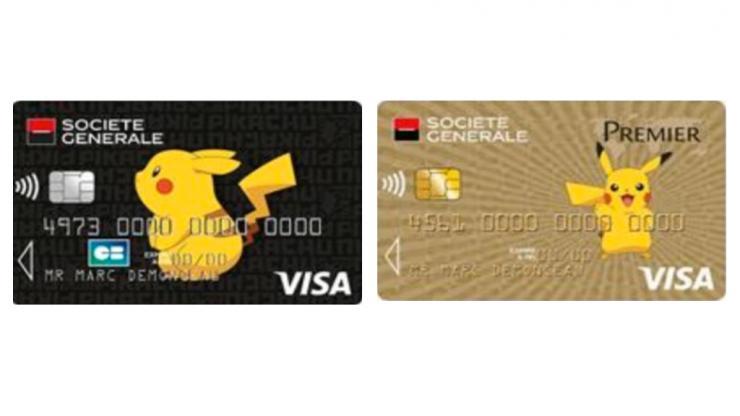 Carte Visa Black Societe Generale.Pokemon La Societe Generale Joue La Carte De La Nostalgie