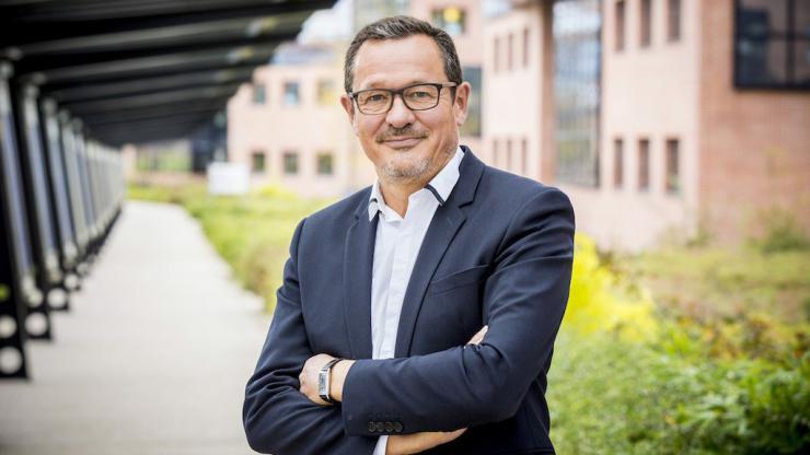 Alain, directeur général de Monabanq, en juin 2018