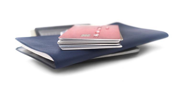 Cartes bancaires sur chéquier