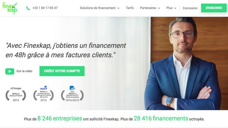 Finexkap homepage