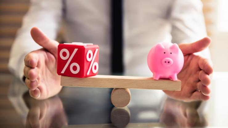 Balance entre taux et épargne