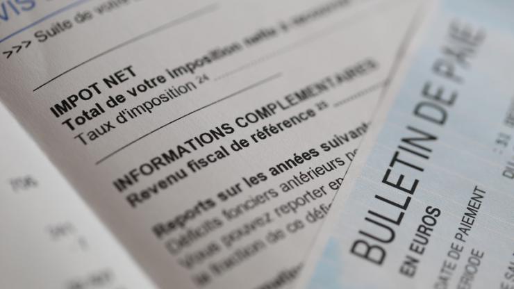 Impôt et bulletin