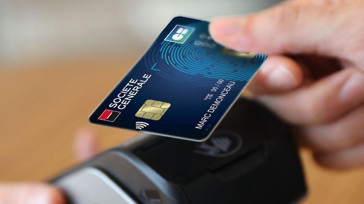 Carte Bancaire Biometrique La Societe Generale En Chef De File