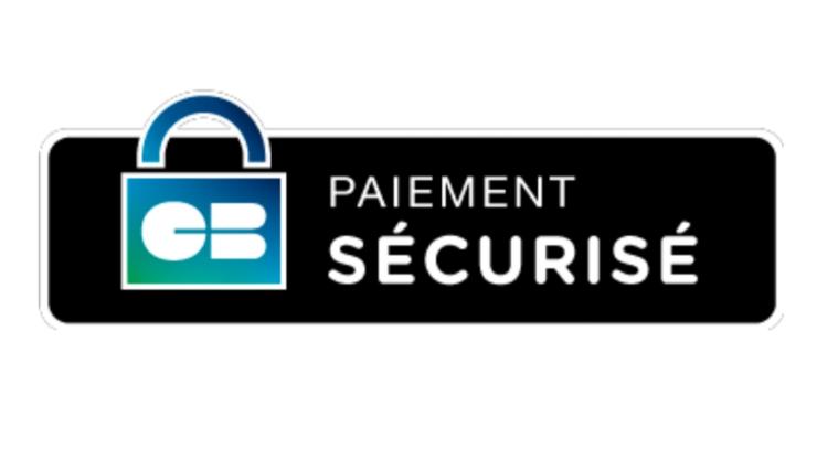 Logo paiement sécurisé CB
