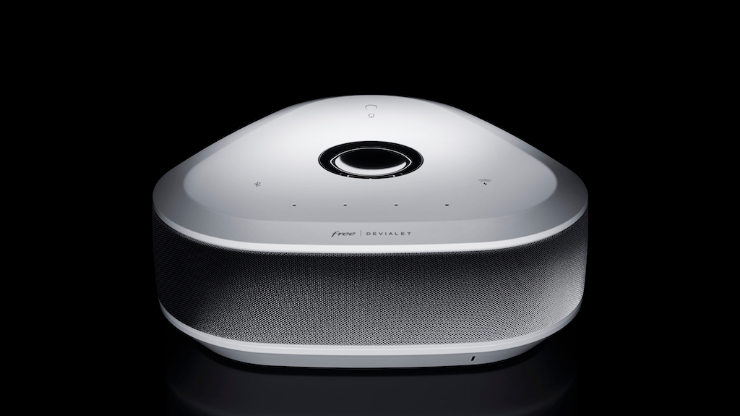 Player Devialet Freebox Delta