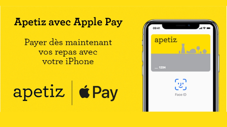 Apetiz sur Apple Pay