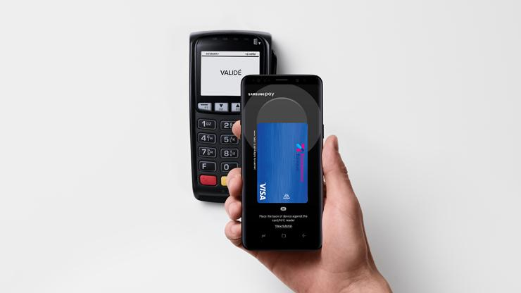 Samsung Pay chez Boursorama