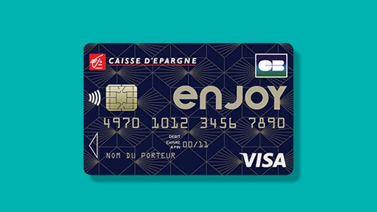 Enjoy, carte bancaire, Caisse d'Epargne