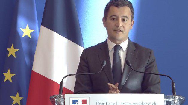 Gérald Darmanin en janvier 2019