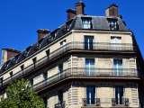 Un immeuble haussmanien à Paris